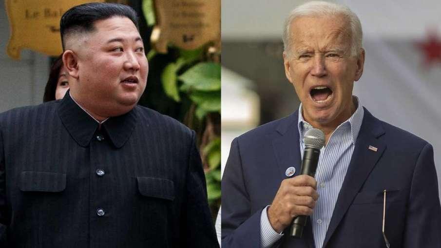 North Korea, North Korea Kim Jong Un, Kim Jong Un missile firing, Kim Jong Un Joe Biden- India TV Hindi