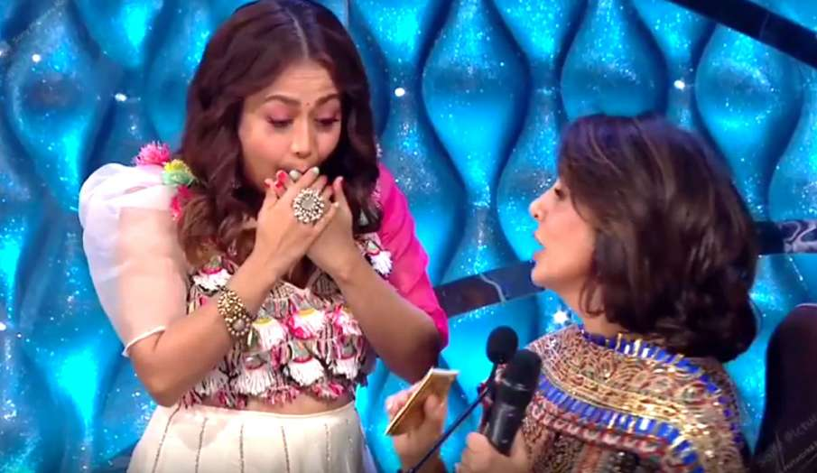 indian idol 12 neetu kapoor gives shadi ka shagun to neha kakkar- India TV Hindi