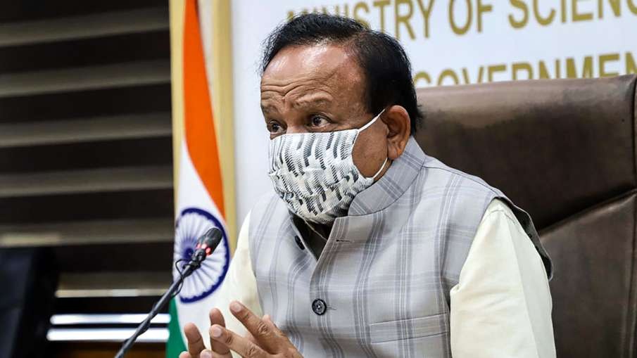 स्वास्थ्य मंत्री हर्षवर्धन ने दी गुड न्यूज, 'देश में खात्मे की ओर बढ़ रहा है कोरोना वायरस'- India TV Hindi