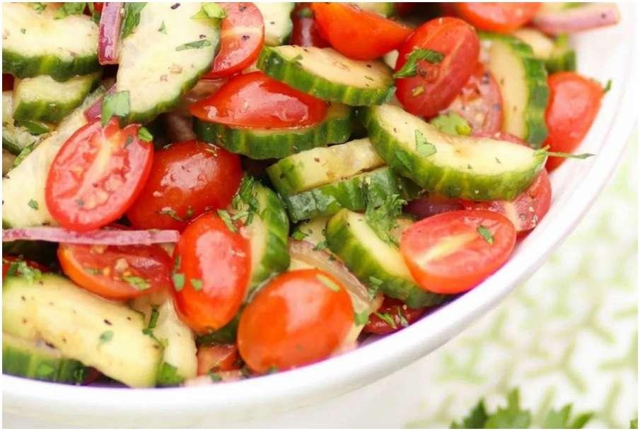 Tomato Cucumber salad- India TV Hindi