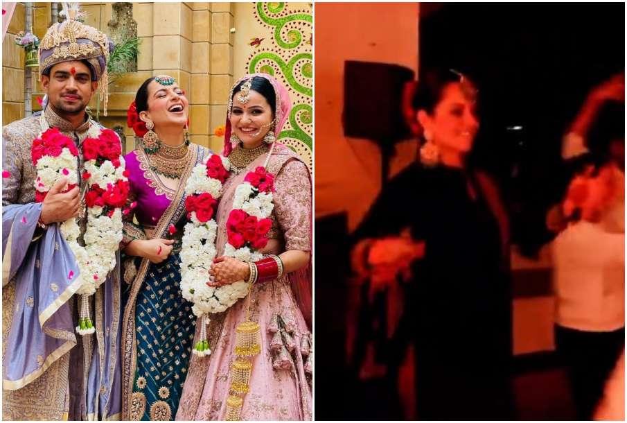 Kangana Ranaut with brother- India TV Hindi