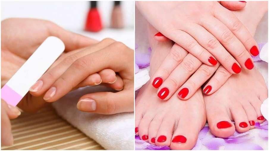 strong and shiny nails - India TV Hindi