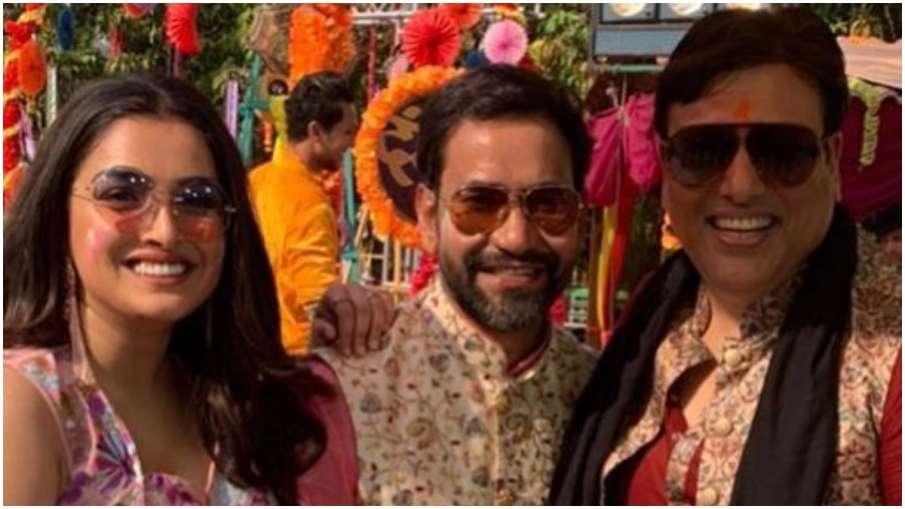 govinda and dinesh lal yadav - India TV Hindi