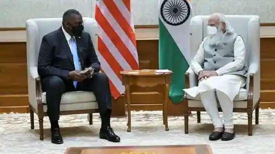 US defence secretary Lloyd Austin meets PM Modi- India TV Hindi