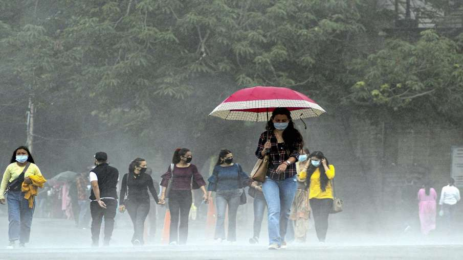 rain predicted in delhi noida ghaziabad jammu kashmir by imd इन राज्यों में बारिश का अनुमान, IMD ने - India TV Hindi