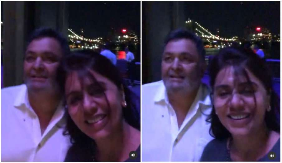 rishi kapoor neetu kapoor ast trip to NYC- India TV Hindi