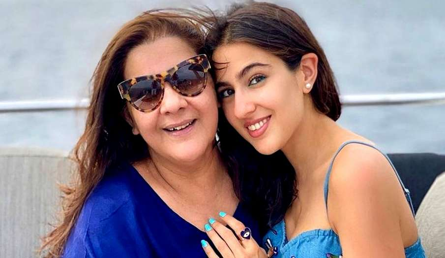 sara ali khan talks about her mother amrita singh struggle- India TV Hindi