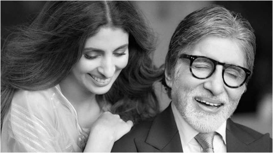 Shweta Nanda,Amitabh Bachchan - India TV Hindi