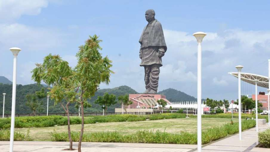 गुजरात: Statue of Unity का...- India TV Hindi