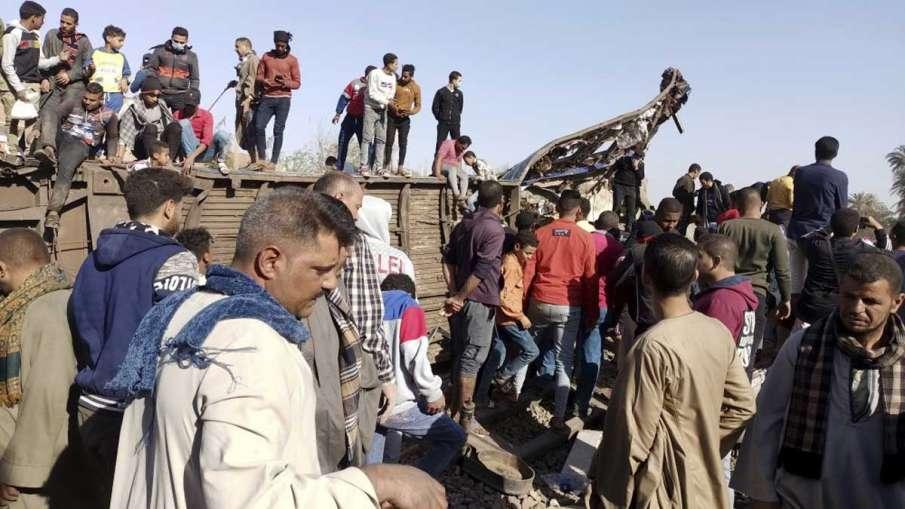 Tahta trains collide, Sohag trains collide, Egypt trains collide, Tahta train accident- India TV Hindi