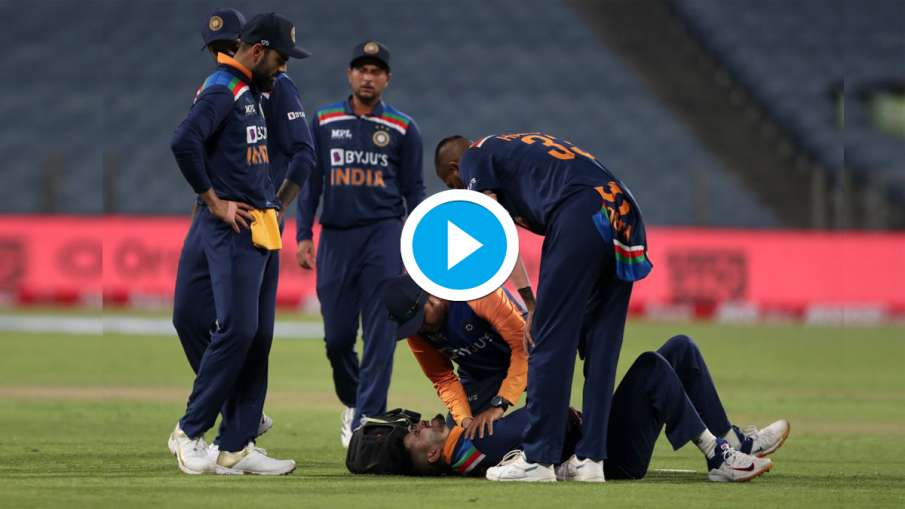 IND vs ENG: Shreyas Iyer injured in an attempt to stop the boundary, India gets a big blow- India TV Hindi