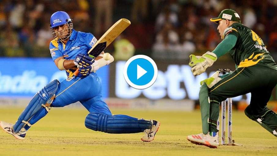 Sachin Tendulkar magic was played on the cricket field, the 60-run stormy innings played on 37 balls- India TV Hindi