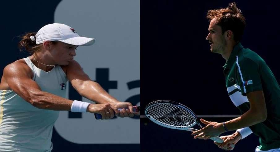 Ash Barty, Danil Medvedev, semi-finals, Miami Open- India TV Hindi
