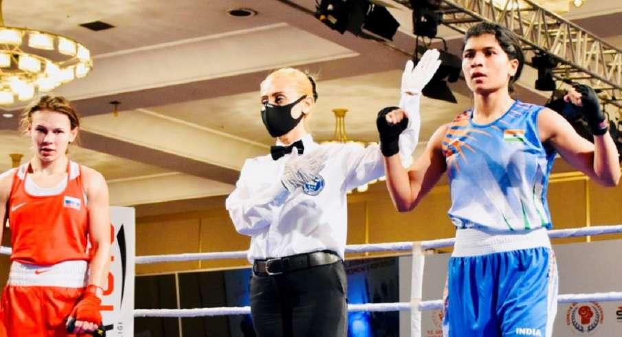 Paltceva Ekaterina, Nikhat Zareen, Boxing, Bosphorus Boxing Tournament, Bosphorus Boxing, Bosphorus- India TV Hindi