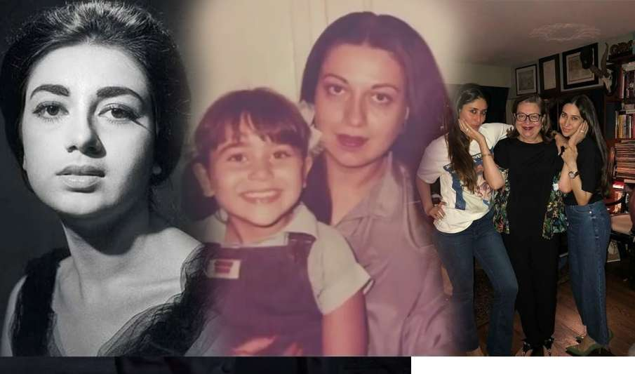 kareena kapoor and karisma share post on mother babita birthday- India TV Hindi