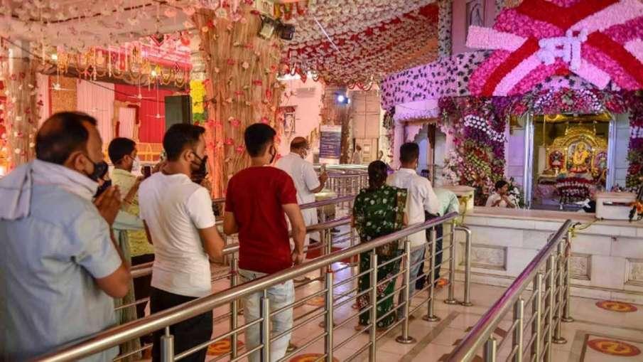 दिल्ली: कोरोना के चलते झंडेवालान मंदिर बंद, कालकाजी मंदिर में एंट्री के लिए बनवाना होगा ई-पास- India TV Hindi