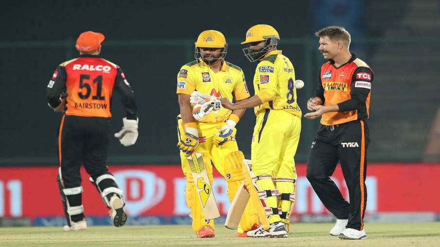 IPL 2021, CSK v SRH: Hyderabad to 7 ...- India TV Hindi