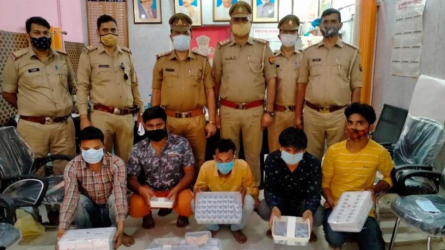 लखनऊ: नकली रेमडेसिविर इंजेक्शन बेचने वाले पांच लोग गिरफ्तार- India TV Hindi