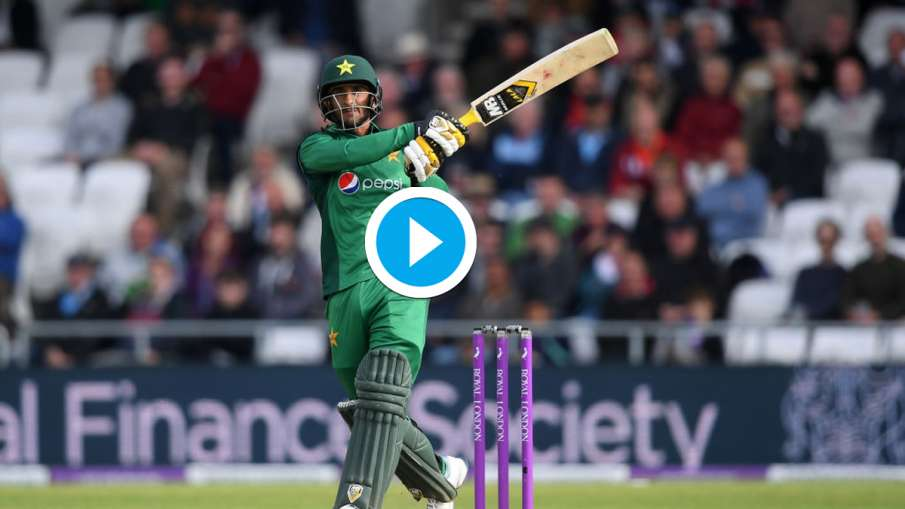 Hasan Ali played four sixes in one over against South Africa, played at a strike rate of 290 - RSA v- India TV Hindi