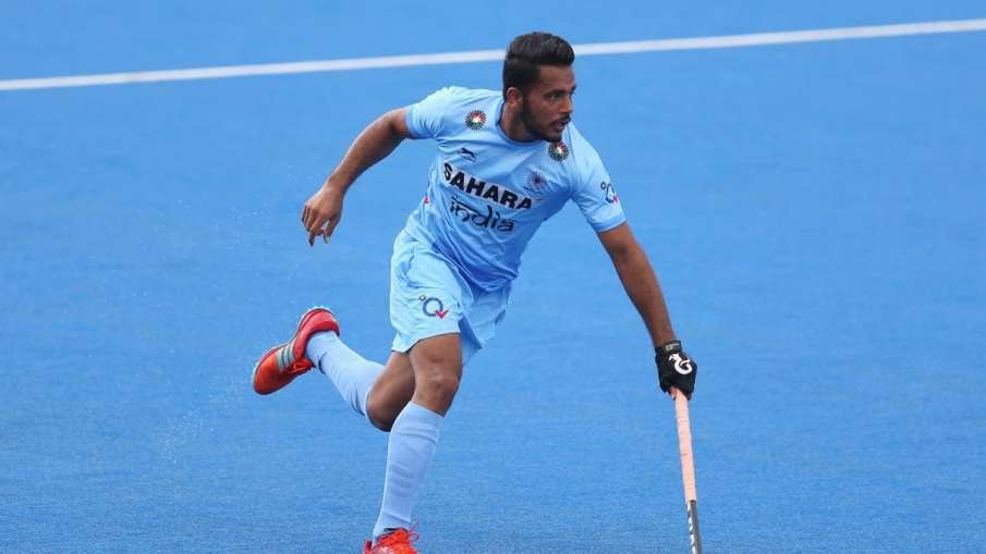 Trying to regain rhythm for Olympics from Argentina tour: Harmanpreet singh - India TV Hindi