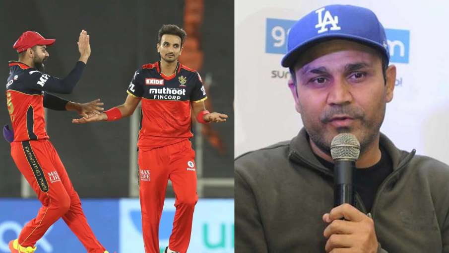 Virender Sehawag Harshal Patel Most Wicket in IPL 2021 DC vs RCB Match 22 - India TV Hindi