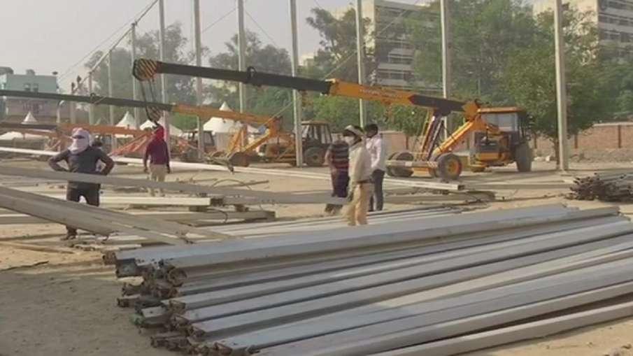 दिल्ली: 500 बेड का आईसीयू हॉस्पिटल,  रामलीला ग्राउंड में 10 मई से पहले बनकर होगा तैयार- India TV Hindi