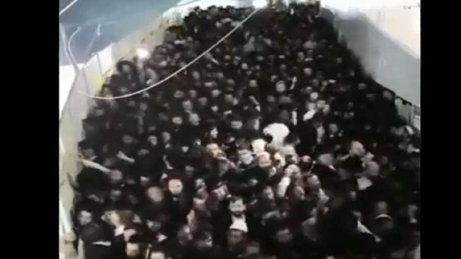 इजराइल में धार्मिक आयोजन के दौरान भगदड़, 44 लोगों की मौत, कई घायल- India TV Hindi