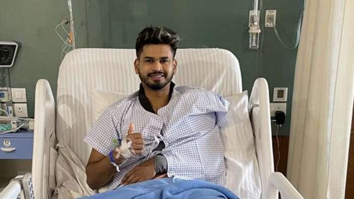 Shreyas Iyer shoulder surgery Successful, information given on Twitter himself- India TV Hindi