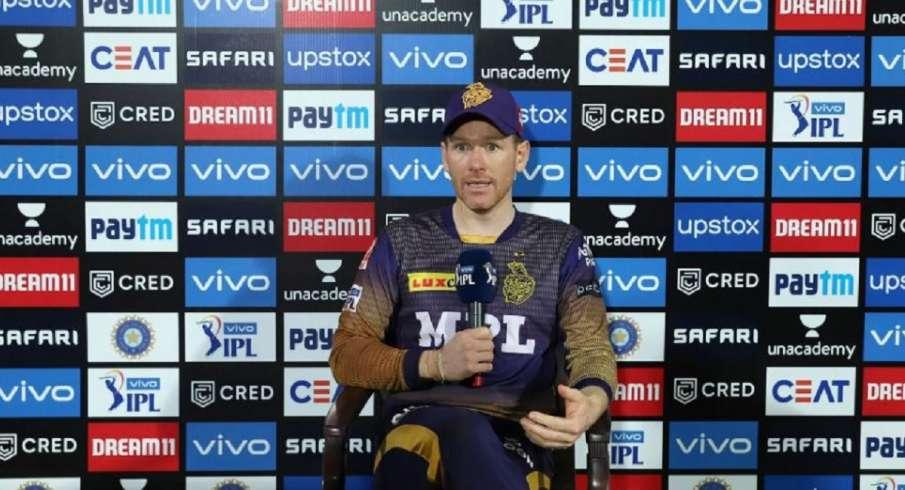 Eoin Morgan, Nitish Rana, Sunrisers vs KKR, IPL, IPL 2021 - India TV Hindi