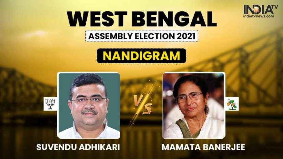 West Bengal Election Result: शुभेंदु आगे या ममता दीदी? नंदीग्राम सीट का पहला रुझान आया- India TV Hindi