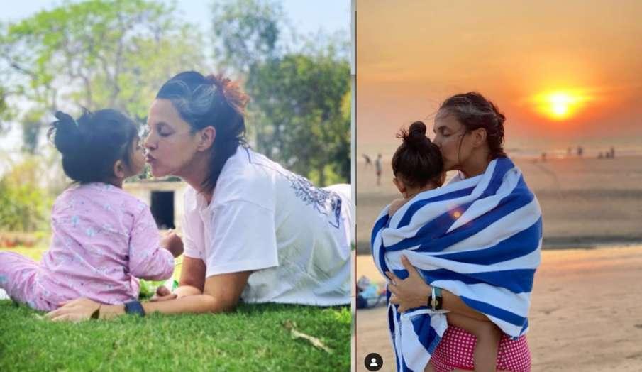नेहा धूपिया से शख्स ने ब्रेस्टफीडिंग का वीडियो पोस्ट करने की डिमांड, एक्ट्रेस ने फोटो शेयर कर ट्रोल्- India TV Hindi