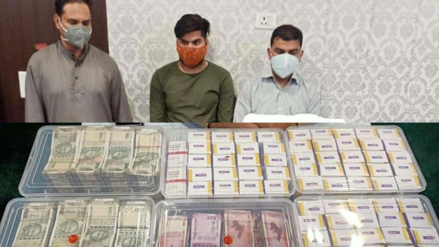 गाजियाबाद: 70 रेमडेसिविर, 2 टोसिलिजुमैब, 36 लाख कैश के साथ डॉक्टर गिरफ्तार, कर रहा था कालाबाज़ारी- India TV Hindi