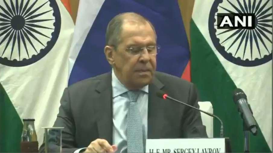 क्या चीन-रूस मिलकर कोई सैन्य समझौता कर रहे हैं? जानिए- रूसी विदेश मंत्री का जवाब- India TV Hindi