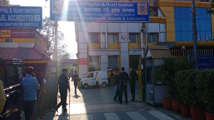 Kailash Hospital left with just 3-4 hours of oxygen supply, no new COVID-19 patient being admitted- India TV Hindi