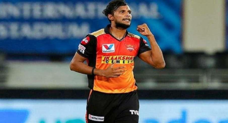 T Natarajan, knee surgery, SRH, IPL, IPL 2021 - India TV Hindi