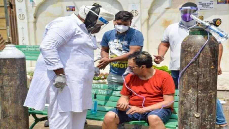 'प्राणवायु' की कमी के बीच कोविड रोगियों की मदद के लिए नेक लोगों ने खोले 'ऑक्सीजन लंगर' - India TV Hindi
