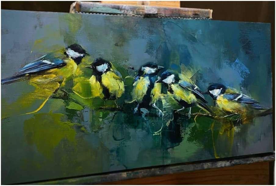Birds painting - India TV Hindi