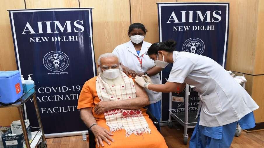 प्रधानमंत्री मोदी ने ली कोरोना वैक्सीन की दूसरी डोज, ट्वीट कर दी जानकारी- India TV Hindi