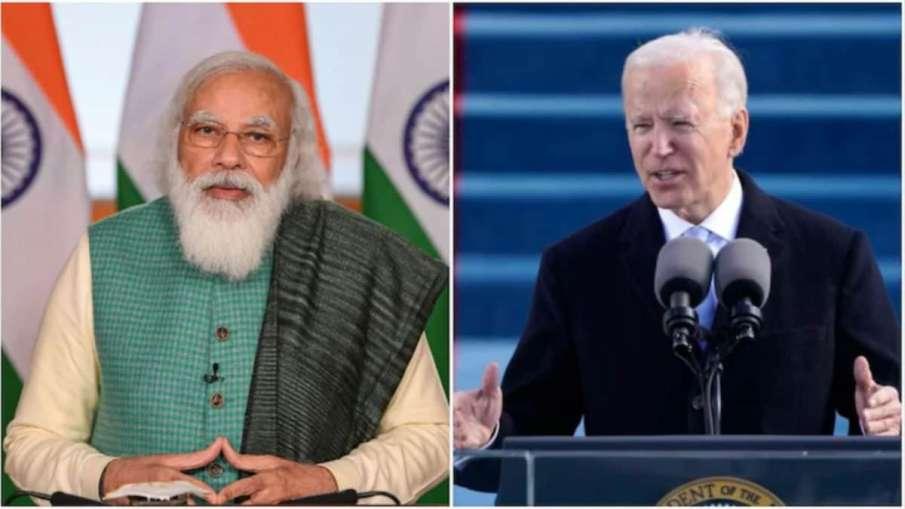 Modi, Biden hold telephonic conversation over Covid-19 situation- India TV Hindi