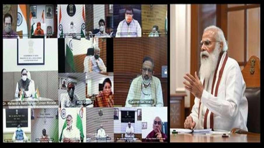 कोविड-19 दूसरी लहर: पीएम मोदी ने केंद्रीय मंत्रिपरिषद के साथ बैठक की, कहा- 100 साल में ऐसे महामारी द- India TV Hindi