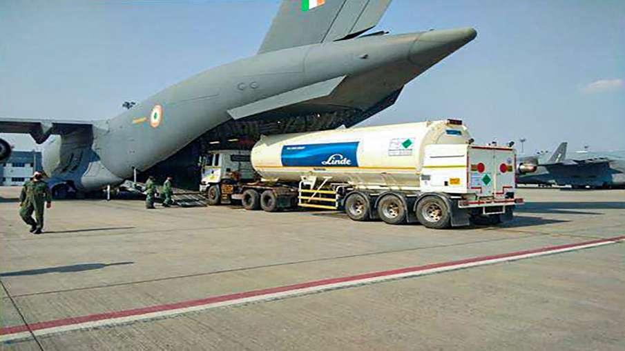 Oxyygen tankers bought from singpore reaches west bengal राजस्थान के लिए विदेश से मंगवाए गए 4 टैंकर - India TV Hindi