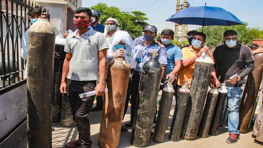 Oxygen cylinders shortage in ganga ram hospital गंगा राम अस्पताल में Oxygen Cylinders का संकट, लगाई - India TV Hindi