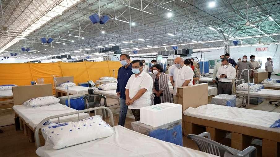 Coronavirus helipline number delhi Sardar Patel Covid Care Centre कोरोना मरीज न हों परेशान, Sardar P- India TV Hindi