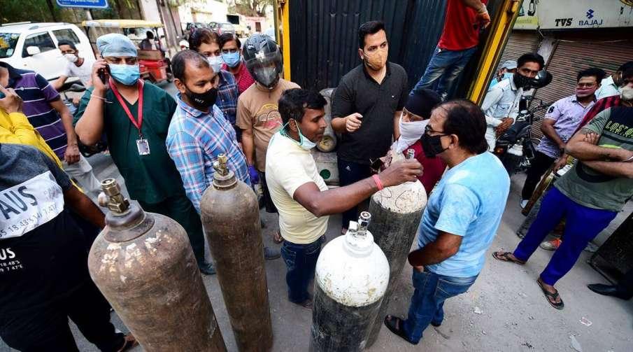 Oxygen reaches Saroj Hospital as soon as it approched Delhi High Court- India TV Hindi