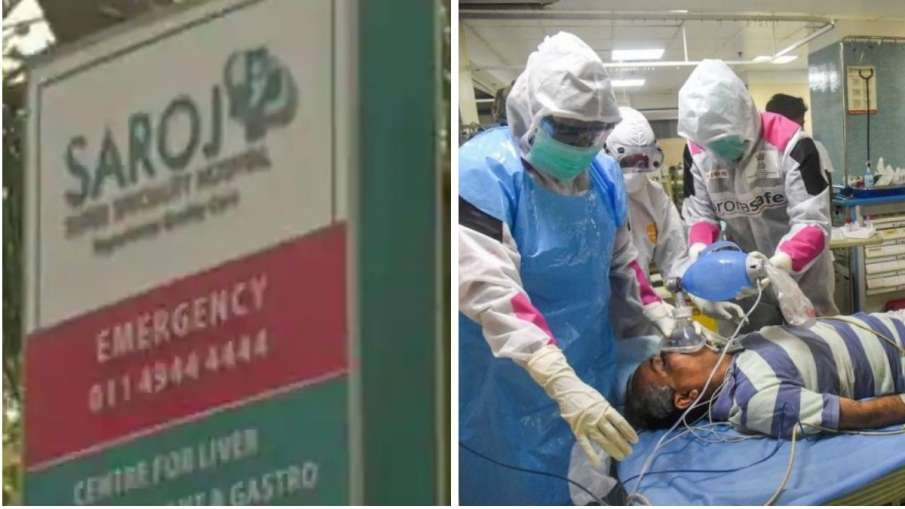 सरोज अस्पताल में प्रार्थना और पुलिस की मदद से ऐसे बचाई गई 100 मरीजों की जान- India TV Hindi