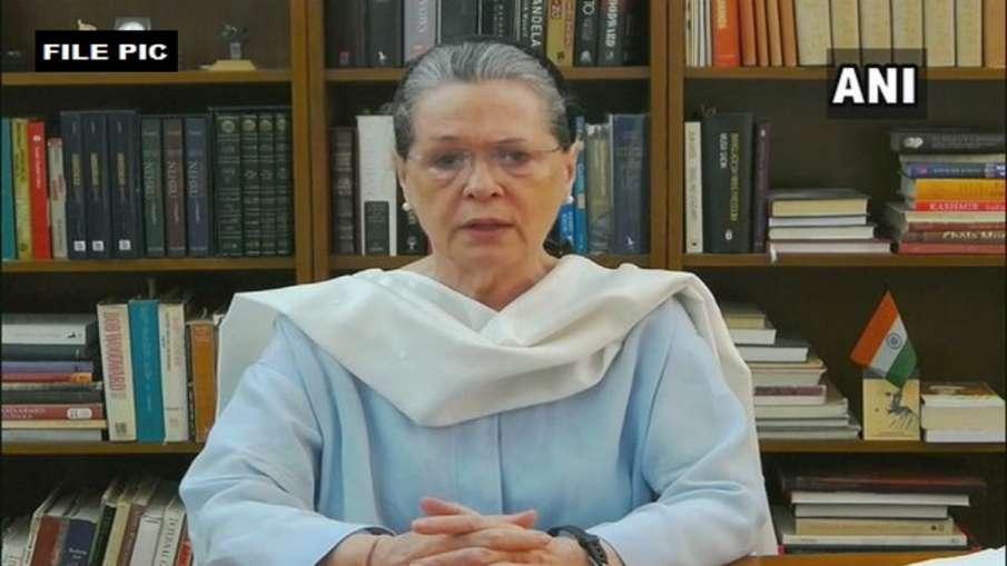 Sonia Gandhi demands from PM that Corona medicines should be out of GST सोनिया की PM से मांग- कोरोना- India TV Hindi