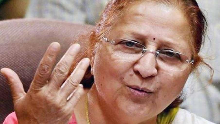 मैं एकदम स्वस्थ हूं, लोकसभा अध्यक्ष को मेरी मौत की खबरों पर गौर करना चाहिए : सुमित्रा महाजन - India TV Hindi