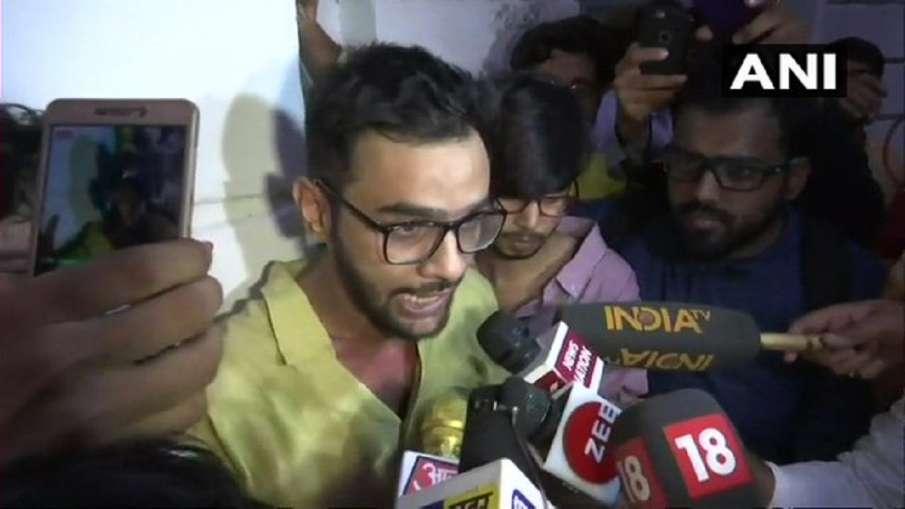 Umar Khalid found coronavirus positive उमर खालिद कोरोना पॉजिटिव, तिहाड़ जेल में है बंद- India TV Hindi