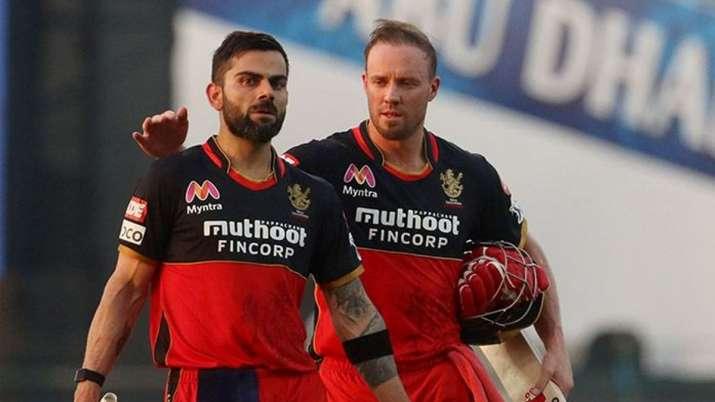 Ab De Villiers Most Runs In IPL Virat Kohli Shikhar Dhawan DC vs RCB IPL 2021 Match 22 - India TV Hindi
