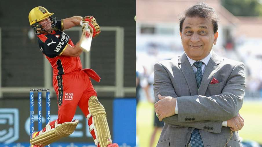 Sunil Gavaskar wants to see AB de Villiers as an opener, said this thing with DC vs RCB- India TV Hindi
